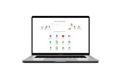 Google Support Goes Dark